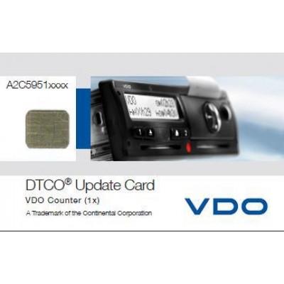VDO DTCO Sayaç Kartı Güncelleme